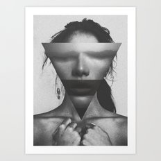 The dimension of her soul Art Print