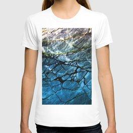 Blue Labradorite Crystal T-shirt