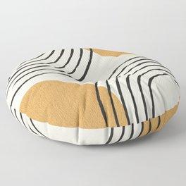 Sun Arch Double - Gold Floor Pillow