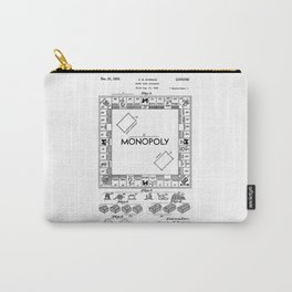 Monopoly Patent drawing Carry-All Pouch