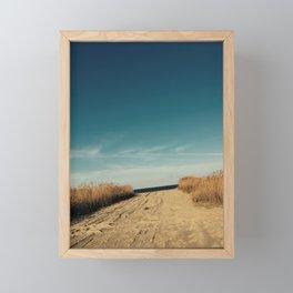 Bowers Beach Framed Mini Art Print
