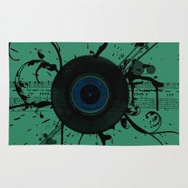 Vintage Vinyl Rug