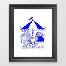 Carroussel Framed Art Print
