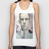 lovecraft Tank Tops featuring LOVECRAFT by Germania Marquez