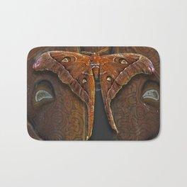 Hercules moth Bath Mat
