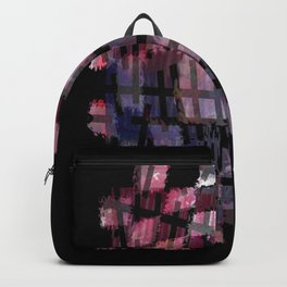 Line and Square Backpack