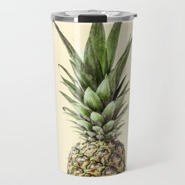 Pineapple Fruit Photography | Summer Happy Tropical Vibes | Art Travel Mug