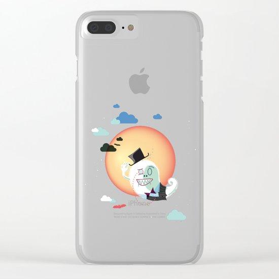Monsieur Salut Clear iPhone Case