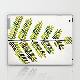 Green Leaflets Laptop & iPad Skin
