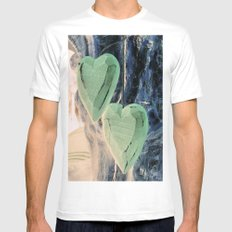 Jealous Hearts Mens Fitted Tee White MEDIUM