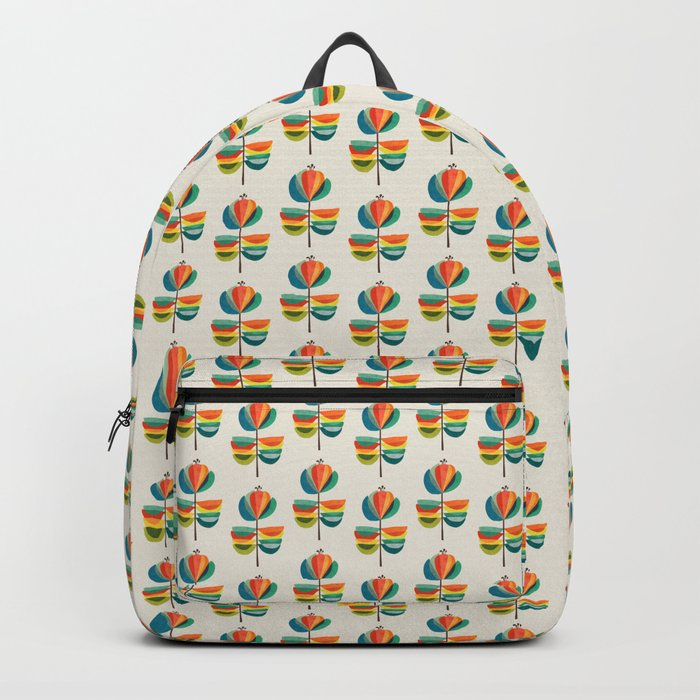 Whimsical Bloom Rucksack