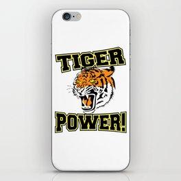 Tiger Power iPhone Skin