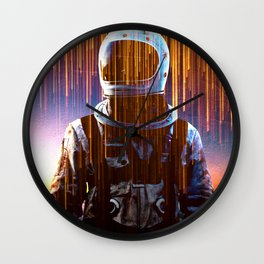 Astronaut in the Clouds Wall Clock