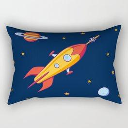 Spaceship! Rectangular Pillow