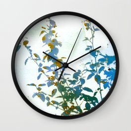 Botanical Bouquet Wall Clock
