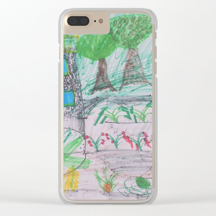 Place of Love - Handmade from Pascal  (A7 B0237) Clear iPhone Case