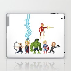 Avenging Pixels Laptop & iPad Skin