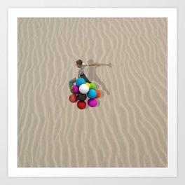 candy sand Art Print