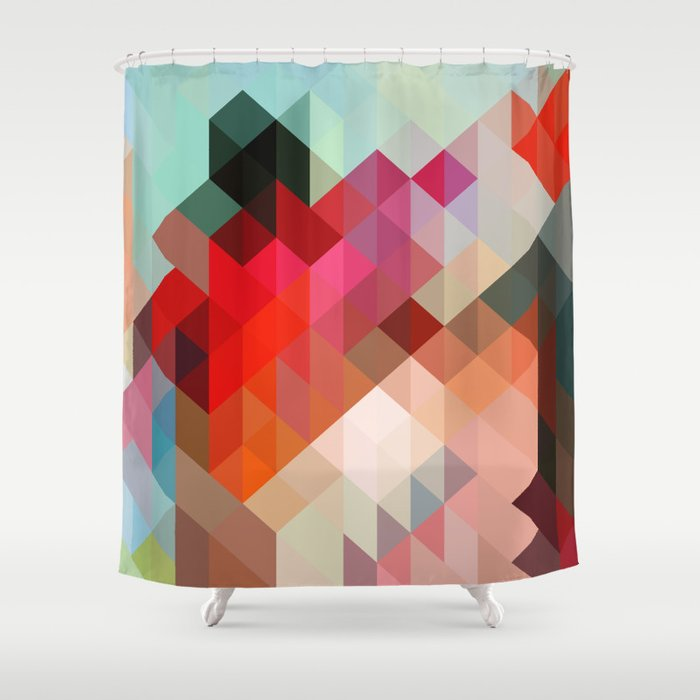 Heavy Words - City 02. Shower Curtain