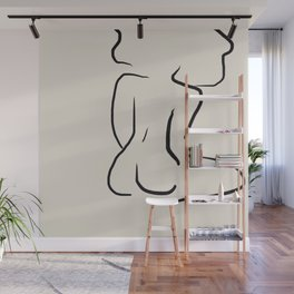 Form and Fro Wall Mural