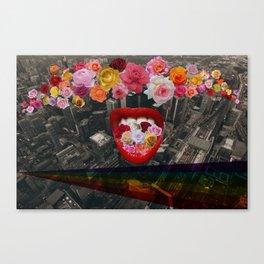 Flower  Vomit Canvas Print