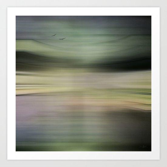 Land, Sea, & Air Art Print