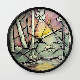 Winter Haven Wall Clock
