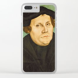 Martin Luther Clear iPhone Case