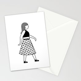 Gerd Girl Stationery Cards