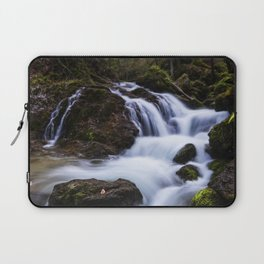 Magical waterfall in gorge Hell Laptop Sleeve