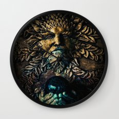 The Stone Sorcerer Wall Clock