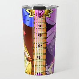 Sailor Mew Guitar #26 - Sailor Venus & Mew Zakuro Travel Mug