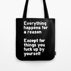 By Yourself Tote Bag