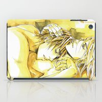 yaoi iPad Cases featuring Close to you by Fireangels
