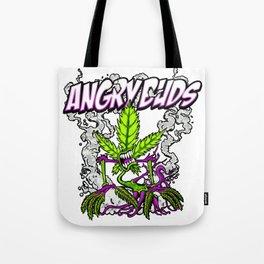 Angry Buds Tote Bag