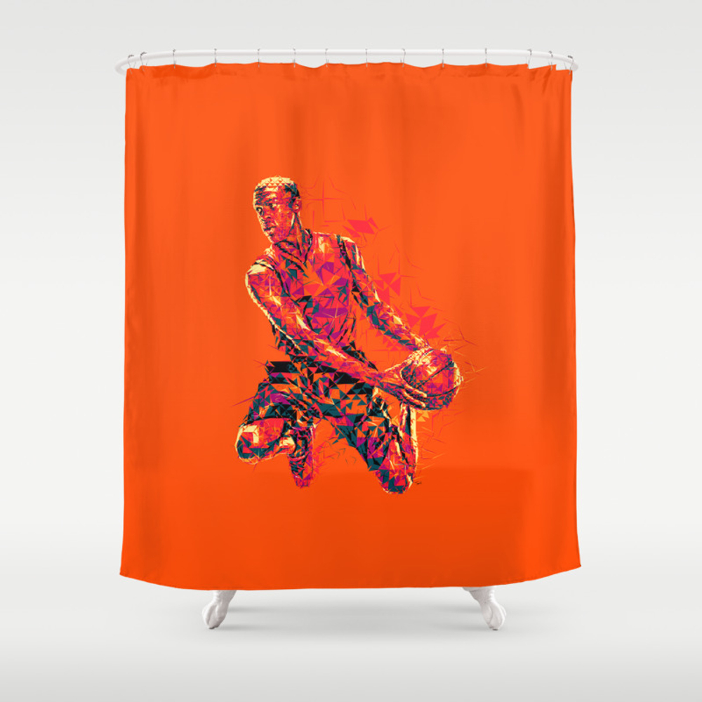 I Love This Game Shower Curtain by Anikl CTN8399320