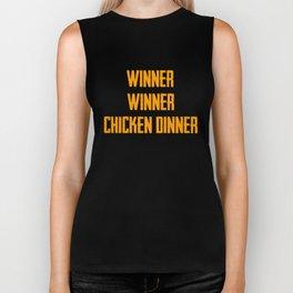 Winner Winner Chiken Dinner Biker Tank