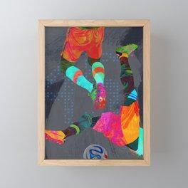 Tropical Soccer III Framed Mini Art Print