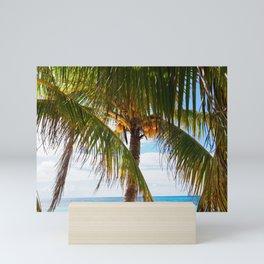 Fresh Palm Trees Mini Art Print
