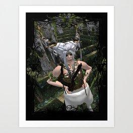 Conquer The Labyrinth Art Print