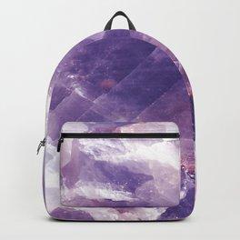 Amethyst gemstone Backpack