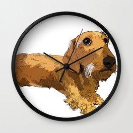 Dachshund dog Wall Clock
