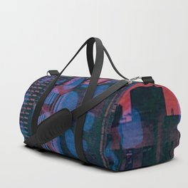 City Wheel Red/Blue Duffle Bag
