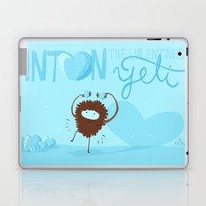 Anton, the Valentine´s Yeti Laptop & iPad Skin