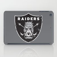 tomb raider iPad Cases featuring Tusken Raider Nation Pride by Captain_RibMan