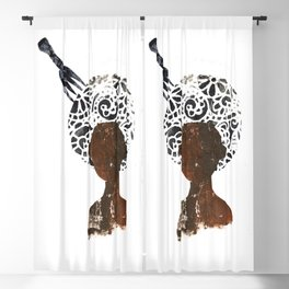 'Fro n' Pick Blackout Curtain