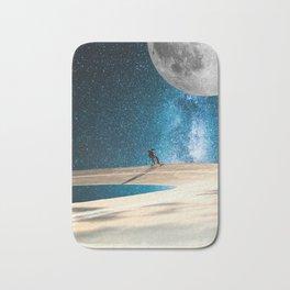 Space Skate Bath Mat