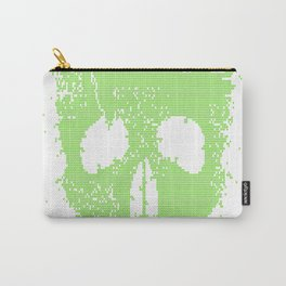 Acid-Skull---Toxic-Green Carry-All Pouch