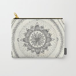 Antler Mountain Mandala Carry-All Pouch