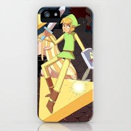 Tribute the Legend of Zelda iPhone Case